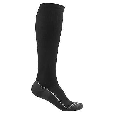Kathmandu Ergonomic Unisex Merino Blend Durable Hiking Run Trail Socks Black