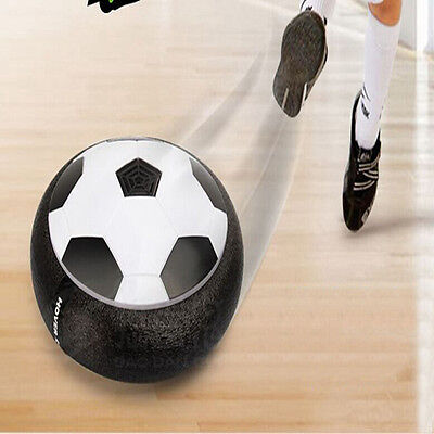 Toys Air Power Soccer Disk Indoor Game LED Pneumatic Football Toy For Children