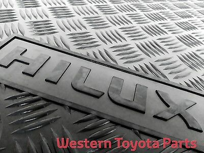 GENUINE TOYOTA Hilux Rubber Floor Mats Front Pair 2011 - 2015