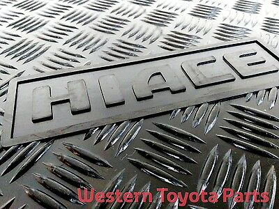 GENUINE TOYOTA Hiace Rubber Floor Mats Front Pair 2005