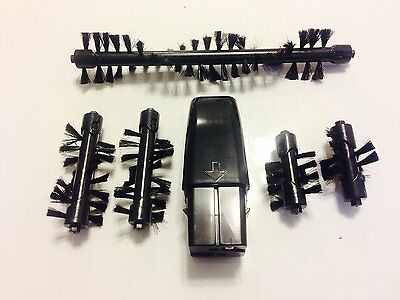 Replacement Bristle Brush & Battery Combo for the Swivel Sweeper Max - Set of 5