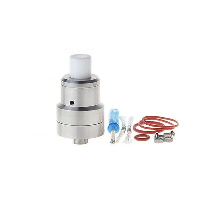 Le Magister RDA Rebuildable Dripping Atomizer Silver Vaping Cloud Chasing RDA RT