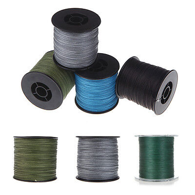 2 x 500M 30lb Dyneema braided fishing line ArmyGreen SK