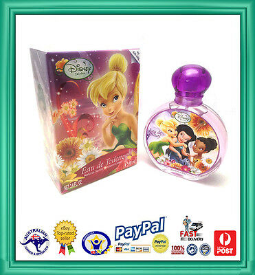 Genuine Girls Disney Fairies Eau De Toilette Spray-Fragrance-Perfume-EDT 100ml