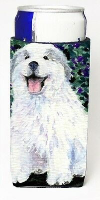 Carolines Treasures SS8856MUK Great Pyrenees Michelob Ultra s for slim cans. Shi