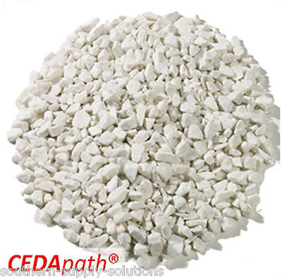 Crushed White Marble 10-14mm Aggregate Chippings mulching landscape bulk or 25kg