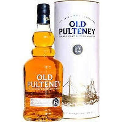 Old Pulteney 12 Year old Single Malt Scotch Whisky 700ml