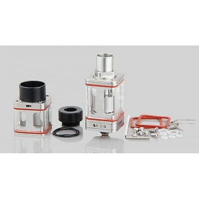 Transformers RDTA RTA Rebuildable Dripping Tank Atomizer Silver Vaping Cloud Cha