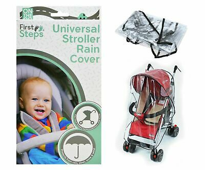 TRANSPARENT Water proof Universal Rain Cover Buggy Pushchair,Stroller snow wind