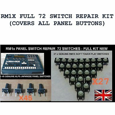 YAMAHA RM1x 78 x Switch Repair Kit for Play and panel buttons VS180900 VZ085500
