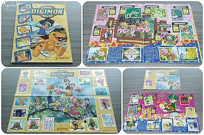 Stickers Album Panini 2000 FR 180/180 images 100% Complet + Poster ♦ DIGIMON 1
