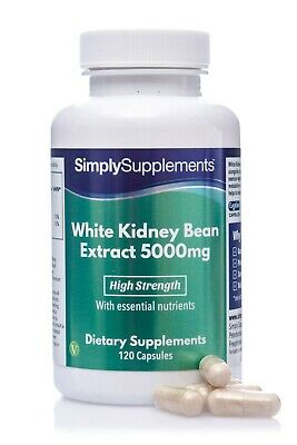 Extrait d'haricot blanc - 120 capsules - Simply Supplements