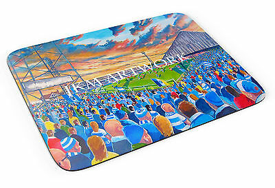Elm Park Stadium Art Mouse Mat - Reading FC