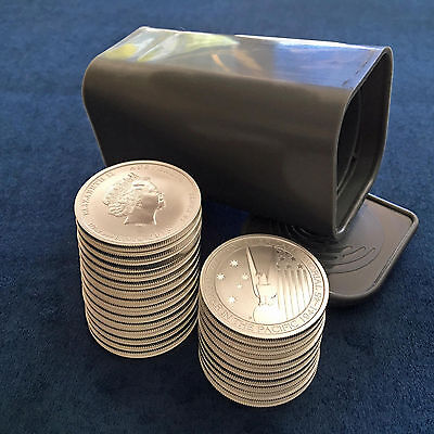Roll of (25) 2013 Australia Perth Mint 1/2 Oz .999 Silver Pacific War Memorial