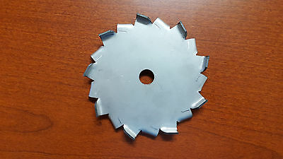 "304 Stainless Steel Dispersion blade 4"" Diameter 1/2"" Center hole Made in USA"
