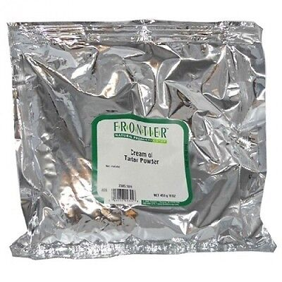 Frontier Natural Products BG13234 Frontier Creme Of Trtar Pwd - 1x1LB. Shipping