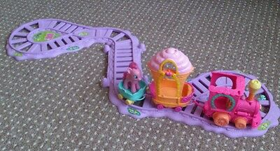 My little pony train set with the friendship carriage