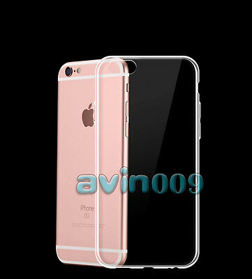 Wholesale 10x Ultra-Thin Clear Soft TPU Transparent Case Cover For iPhone 7