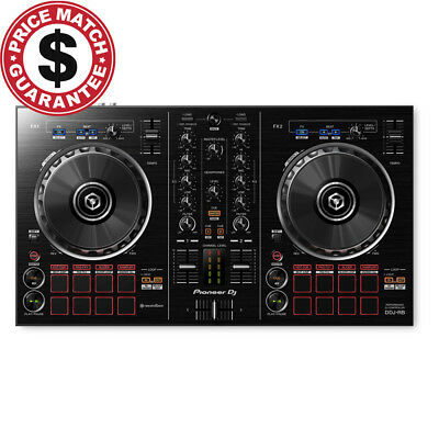 Pioneer DDJ RB Portable 2-Channel DJ Controller DDJ-RB w/ Rekordbox DJ