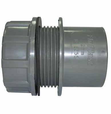 Solvent Grey 32mm (36mm) Tank Connector