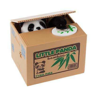 Money Stealing Little Panda Piggy Bank Storage Saving Box Delicate shape