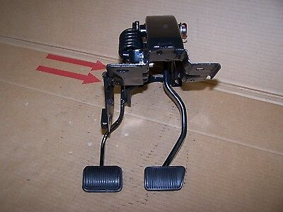 Mustang 4 speed clutch and non-power brake pedals restored 71 72 73