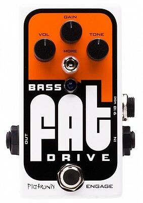 Pigtronix BOD Bass FAT Drive Pedal. Delivery is Free