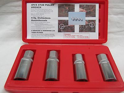 Stud Extractor Set 4Pc Puller Remover Wrench