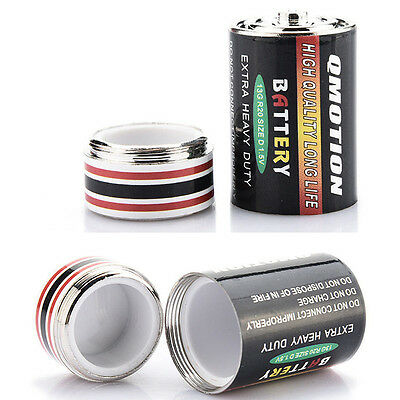 Battery Shaped Safe Jewelry Secret Hidden Container Cash Money Storage Stash Box