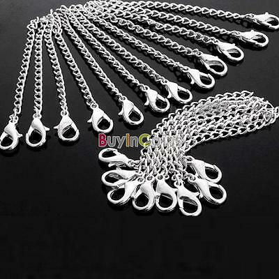 Popular Silver Plated Necklace Chain Extender With Lobster Clasp For Necklace