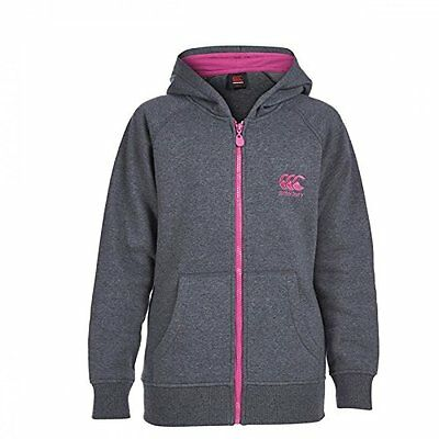 Canterbury Girls Zip Thru Hoody  Hoodie Sweatshirt Age 6 8 10 14 Years Rrp £30