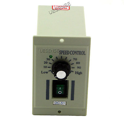 AC 110V Rotary Knob Voltage Speed Controller DC Motor Variable DC0-90V