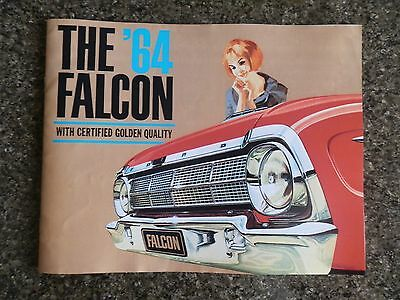 1964 Ford Falcon Xm Sales  Brochure  100% Guarantee