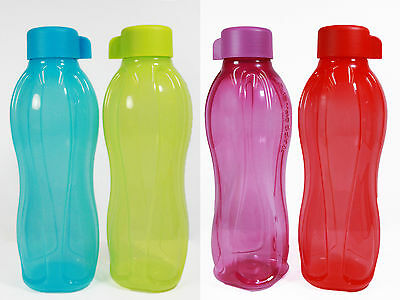 Tupperware Eco Drink Water Bottle (2) 750ml with FREE Shipping