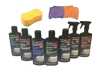 The Dogs Full Collection Perfect Bodywork,Complete Car Cleaning Valeting Kit