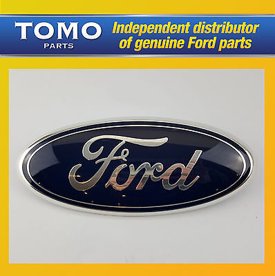 "GENUINE NEW FORD TRANSIT 06-13 Mk7 FRONT GRILLE 9"" OVAL LOGO NAME PLATE BADGE"