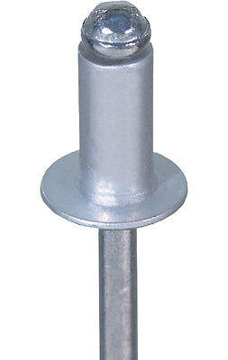 6.4mm Aluminium Steel Domed Head POP Rivet | Blind Open Rivets | (Choose Length)