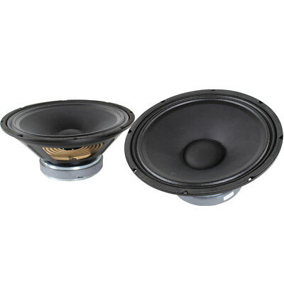 "2x QTX 12"" PA Replacement Woofer Speaker Drivers Spare Components Parts 500W"