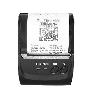 Mini Thermal Printers Portable 58mm Printer for Shop Receipt for Windows Android