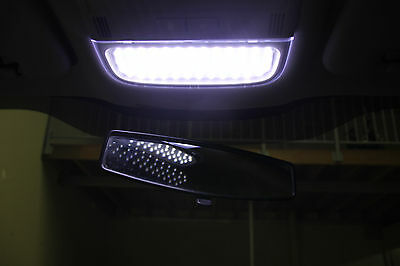 Holden VE Commodore White Full LED Interior Light Kit + 2 Exact fit Panel Lights