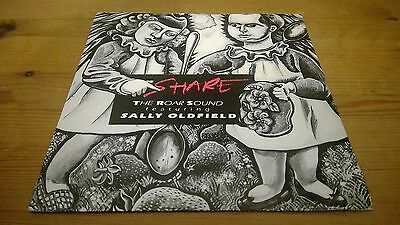 "Sally Oldfield ‎– Share / Fire & Ice - 7"" Vinyl Record Single"