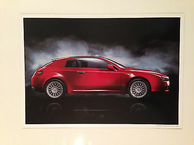 Alfa Romeo Brera 2006 UK Market Limited Edition Print Brochure - Set of 3