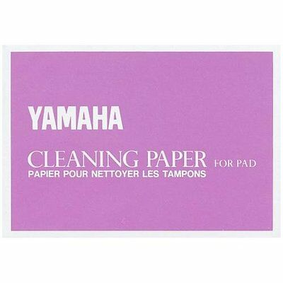 YAMAHA Cleaning paper for pad- Papier pour nettoyer les tampons- NEW