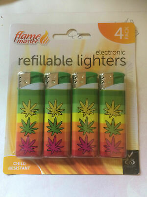 cigarette lighter 4 pack with lsmoking free postage