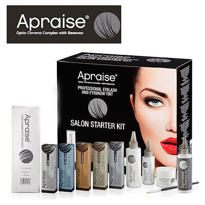 Apraise Eye Lash and Brow  Starter Kits Tints, Developers, Stain Remover etc.