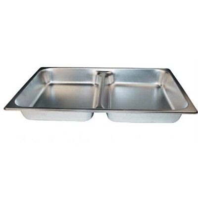 Winco SPFD2 2-1/2-Inch Divider Food Pan, Full Size, Set of 6