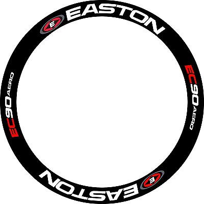 EA  Wheel Decals Road Bike Rim Sticker Replacement EC90 Racing For 2 RIMS