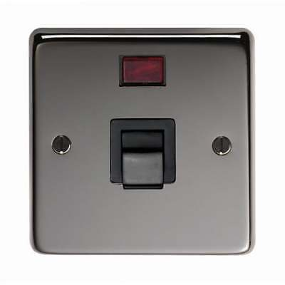 From the Anvil Single Plate Cooker Switch - Black Nickel - 34212