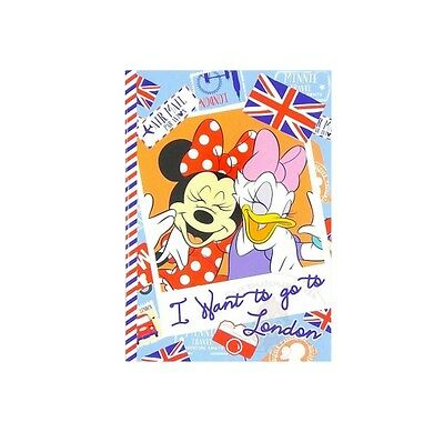 Super Cute Disney Minnie Mouse & Daisy 18 Sheets Notebook #b