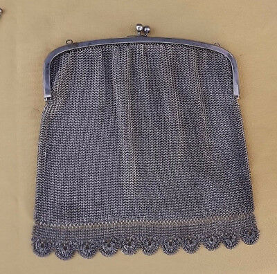 Antique Victorian Art Nouveau Déco french Fancy Flapper Purse gothic steampunk